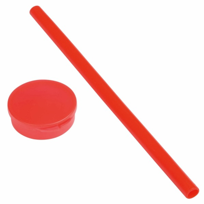 Picture of PRACTICALLY SILICON STRAW in Red