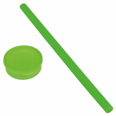 Picture of PRACTICALLY SILICON STRAW in Green