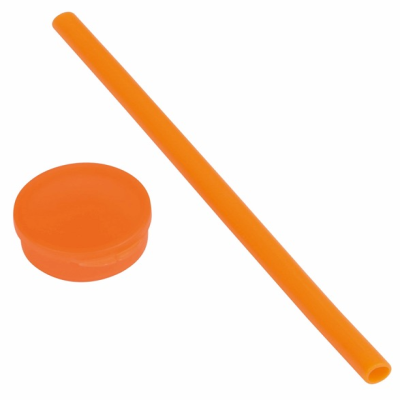 Picture of PRACTICALLY SILICON STRAW in Orange