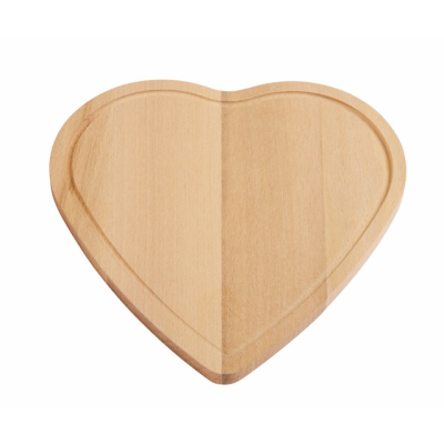 Picture of CUTTING BOARD WOOD HEART