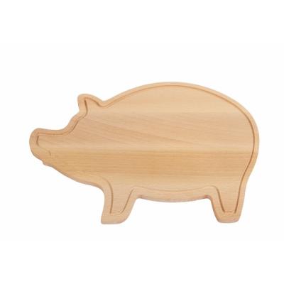 Picture of CUTTING BOARD WOOD PIGGY