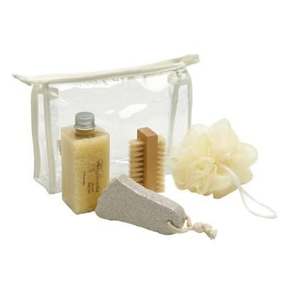 Picture of 4 PIECE WELLNESS PAMPER BATH SET in PVC Bag
