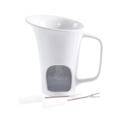 Picture of HOT CHOCOLATE FONDUE SET in Mug Shape