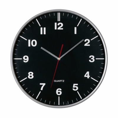 Picture of HEMERA WALL CLOCK in Black - Silver
