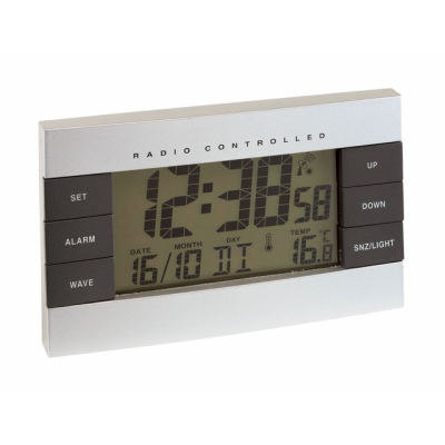 Picture of NO LIMIT RADIO-CONTROLLED CLOCK with LCD Screen