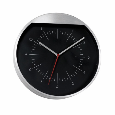 Picture of ROUNDABOUT WALL CLOCK in Black & Silver