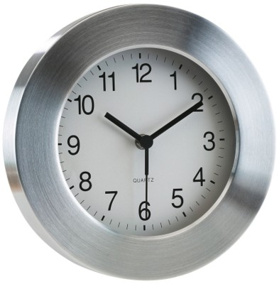 Picture of ROUNDABOUT WALL CLOCK in Silver