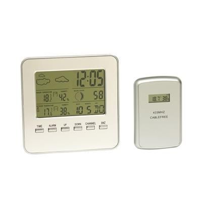 Picture of IN & OUT WEATHER STATION in Silver