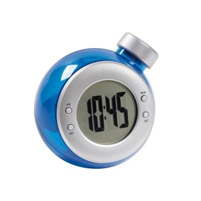 Picture of DEEP BLUE TABLE CLOCK in Blue - Silver