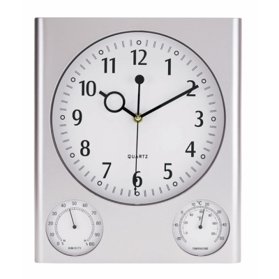Picture of MACAU TRAVEL ALARM CLOCK in Silver