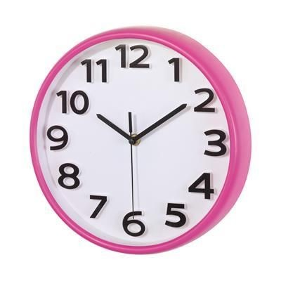 Picture of HALLEY WALL CLOCK in Magenta