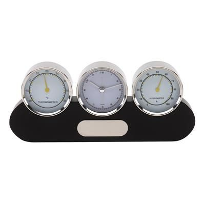 Picture of SUNNY TIMES WEATHER STATION CLOCK in Black