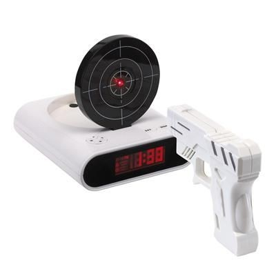 Picture of WESTERN ALARM CLOCK in Black