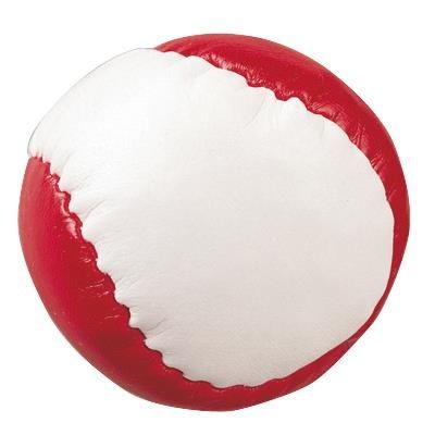 Picture of STRESS JUGGLING BALL in Red & White