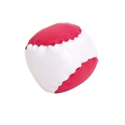 Picture of JUGGLE PVC JUGGLING BALL in White & Magenta