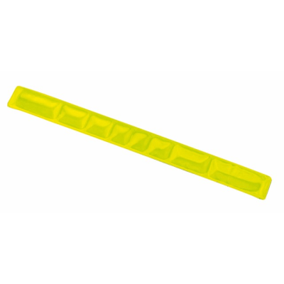 Picture of REFLECTIVE WRIST SNAP BAND in Yellow