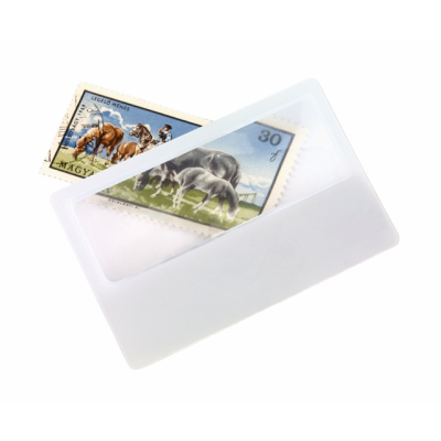 Picture of SUPPORT CREDIT CARD MAGNIFIER GLASS in White