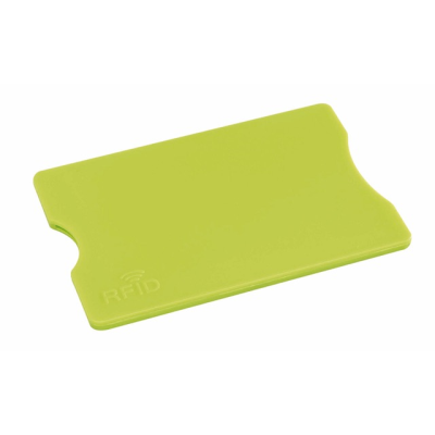 Picture of PROTEC RFID CARD HOLDER in Apple Green