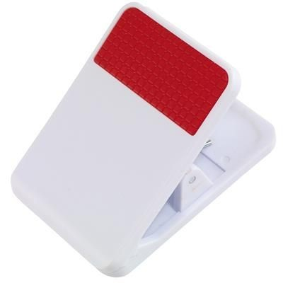 Picture of MAGNETIC CLIP TO DO FOR MEMO in Red