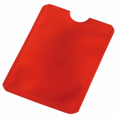 Picture of EASY PROTECT CREDIT CARD SLEEVE in Red