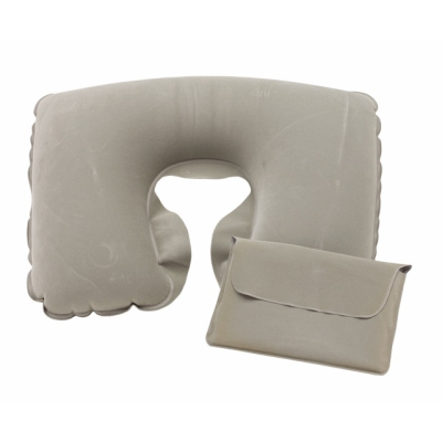 Picture of INFLATABLE TRAVEL PILLOW in Grey