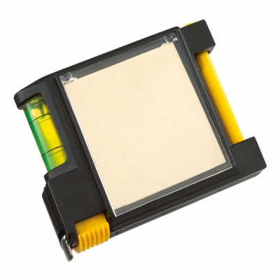 Picture of MEMO NOTE PAD TAPE MEASURE in Yellow & Black
