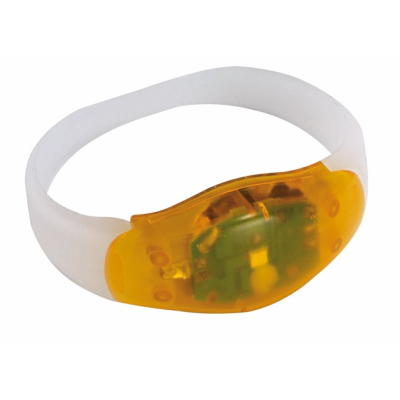 Picture of FESTIVAL WRIST BAND with 3 LED Lights in Orange