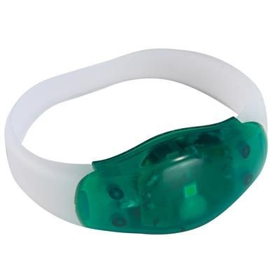 Picture of FESTIVAL WRIST BAND with 3 LED Lights in Green