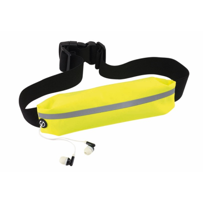 Picture of SEE ME SPORTS WAIST BAG in Yellow