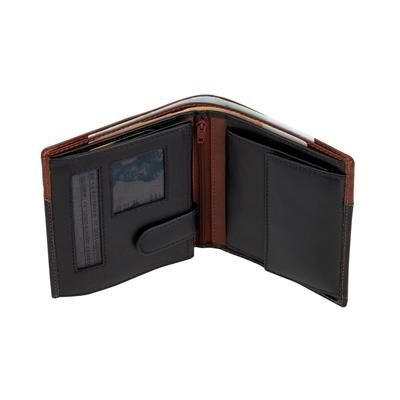 Picture of CASH BILLFOLD WALLET in Black Leather