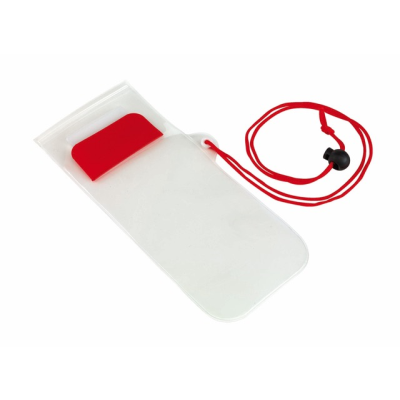 Picture of SMART SPLASH PHONE BAG in Red