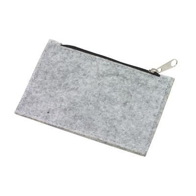 Picture of COLLECTOR FELT COIN PURSE in Grey