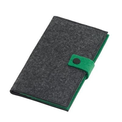 Picture of EDITION FELT WALLET in Grey & Green