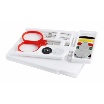 Picture of TRAVEL SEWING KIT in White Holder