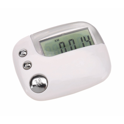 Picture of RUN AWAY PEDOMETER in White