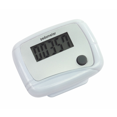 Picture of EASY RUN PEDOMETER in White