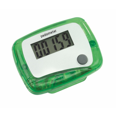 Picture of EASY RUN PEDOMETER in Green
