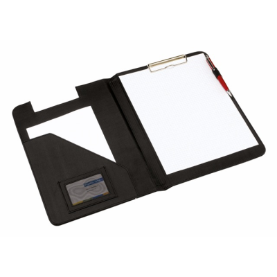 Picture of MONTE CARLO DOUBLE CLIPBOARD in Black PVC & Nylon