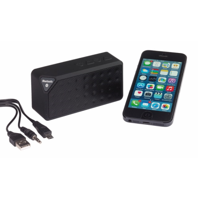 Picture of BLUETOOTH-MP3 LOUD SPEAKER in Black
