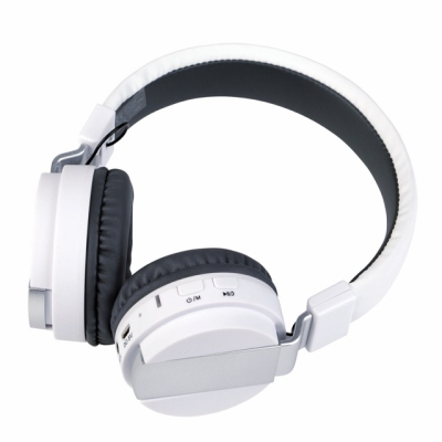 Picture of BLUETOOTH HEADPHONES FREE MUSIC in White