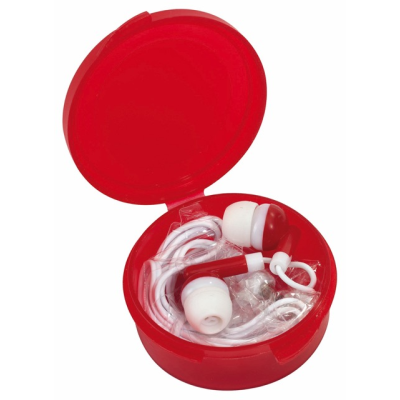 Picture of IN-EAR MUSIC HEADPHONES in Red