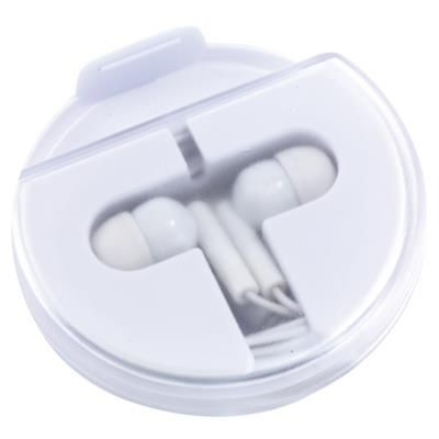 Picture of HOLD THE MUSIC IN-EAR HEADPHONES in White