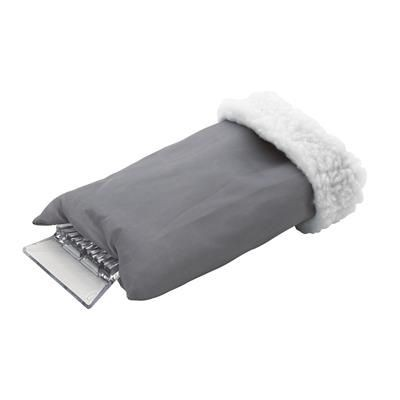 Picture of CAR ICE SCRAPPER GLOVE in Silver & Grey