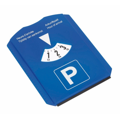 Picture of ARRIVAL ICE SCRAPER & PARKING TIMER DISPLAY in Blue