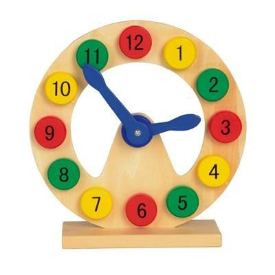 Picture of LEARNING AND PLAYING CLOCK COLOUR TIME