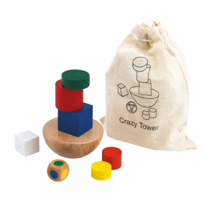 Picture of WOOD BALANCE CRAZY TOWER GAME