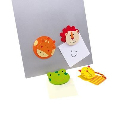 Picture of FUNNY FOUR ANIMAL MAGNET MEMO HOLDER
