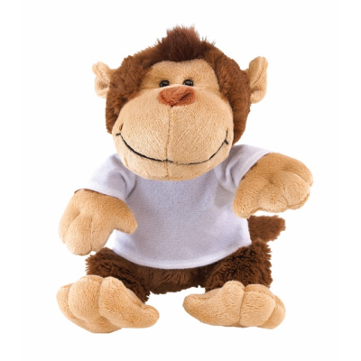 Picture of INGO PLUSH MONKEY SOFT TOY in Brown & Beige