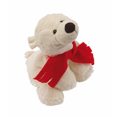 Picture of LARS PLUSH SOFT TOY POLAR BEAR in White