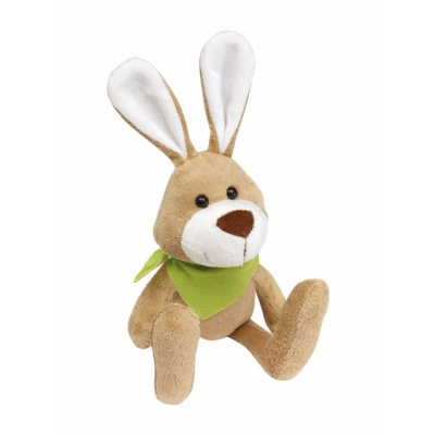 Picture of MINNA PLUSH SOFT TOY RABBIT in Brown